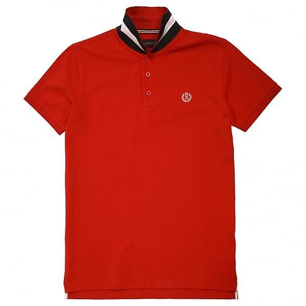 Henri Lloyd Cowes Club Regular Polo Shirt, Red