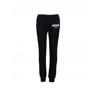 Moschino Milano Logo Cuffed Jogging Bottoms