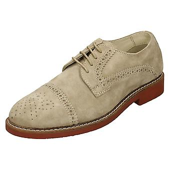 Mens AM Shoe Company Casual Brogue Shoes AM275