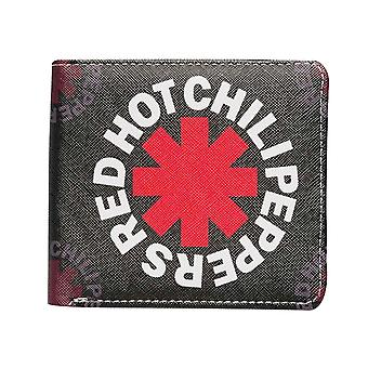 Red Hot Chili Peppers Wallet Asterisk Band Logo nowe oficjalne black bifold