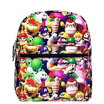 Medium Backpack - Super Mario Bros - All-Over Print 14