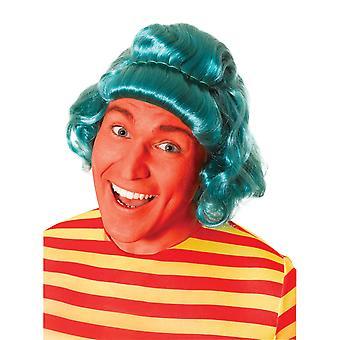 Bristol Novelty Unisex Wavy Candy Wig