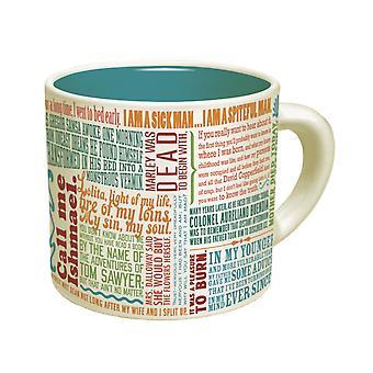 Mugg-UPG-första streck litteraturen ny kaffekopp 2763