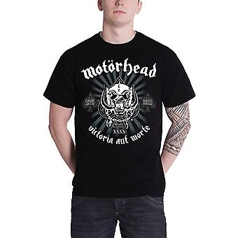 Motorhead T Shirt 40th Victoria Aut Morte Classic Warpig Official Mens New Black