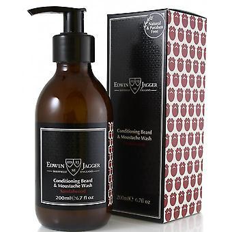 Santal puun parta ja viikset shampoo-puhdistaa ja pehmentää
