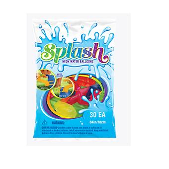 Party Supplies - Pioneer Water Balloons Neon Splash 30 ct Games 82185