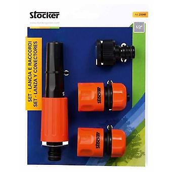 Stocker garden Throw In September And Connectors 1/2   (Garden , Gardening , Irrigation)