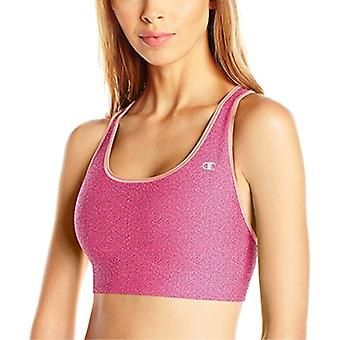 Champion Absolute Shape Sports Bra  Berry Delight Hear/Deep Sea Coral