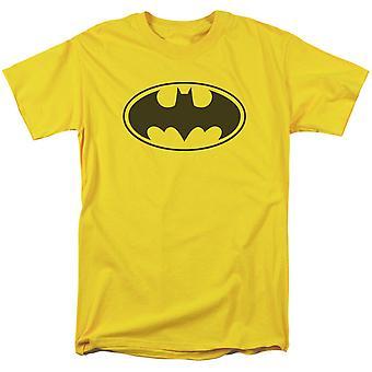 Batman logo gula män ' s T-shirt