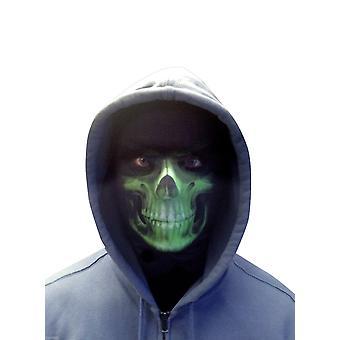 Wild star hearts - grim reaper - green lycra headwear