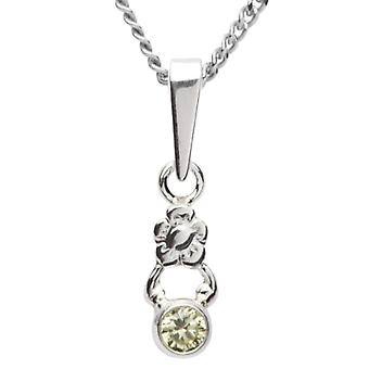 InCollections 5420200003401 - Chain with children's pendant with cubic zirconia - silver sterling 925