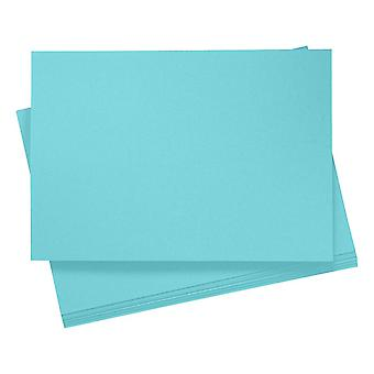 20 A4 Sky Blue Card Sheets for Crafts