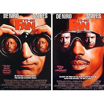 Affiche de cinéma originale de The Fan (Double-Sided)
