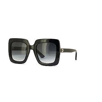 Gucci GG0328S 001 Schwarz/Grau Farbverlauf Sonnenbrille
