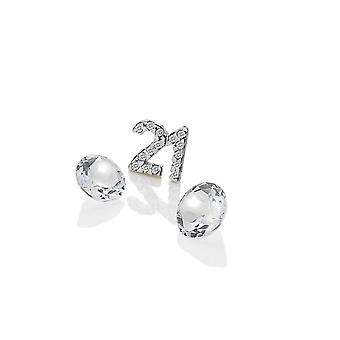 Anais Hot Diamonds Anais Sterling Silver 21 Charm AC059