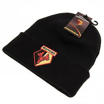 Watford FC Adults Unisex Knitted Hat