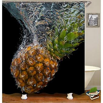 Sinking Pineapple Shower Curtain