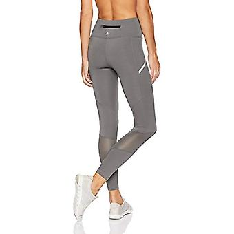 "Starter Women's 28"" Therma-Star Running Tights,  Exclusive, Iron Grey, M"