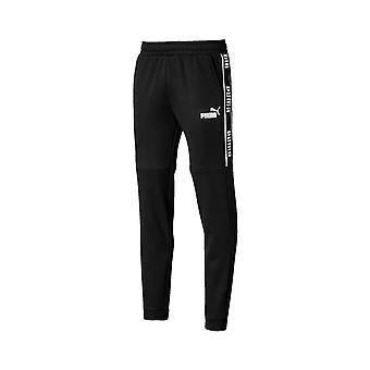 Puma Amplifié Fleece Mens Survêtement Pantalon Jogger Pantalon Noir