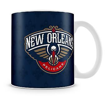 Fanatici NBA team keramische koffiemok - New Orleans pelikanen