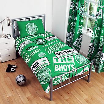 Celtic FC Patch Duvet Set