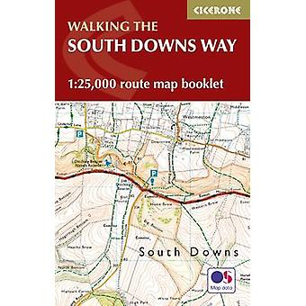 South Downs Way Map Booklet by Kev Reynolds
