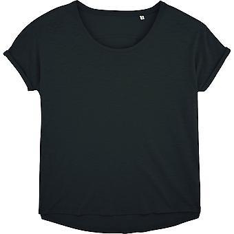 greenT Womens Organic Cotton Lazes Loose Fit Jersey T Shirt