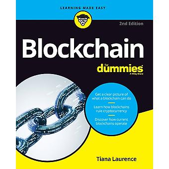 Blockchain For Dummies 2nd Edition by Laurence & Tiana