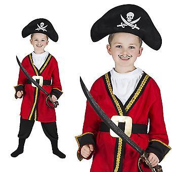Pirate captain pirate child costume boy Pirate Costume