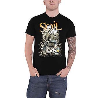 Soil T Shirt Pickaxe Band Logo new Official Mens Black