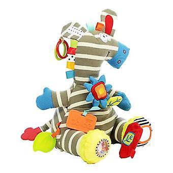 Dolce Toys Knuffel Activity Zebra