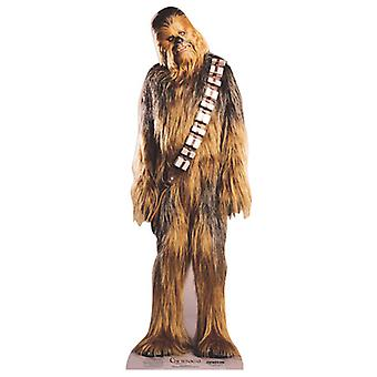 Chewbacca (Star Wars) - recorte de cartón Mini / pie