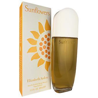 Sunflowers women by elizabeth arden 3.3 oz eau de toilette spray