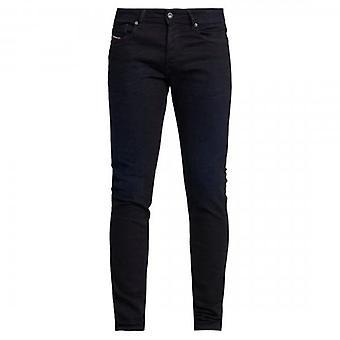 Diesel Sleenker-X Stretch Ciemnoniebieskie dżinsy dżinsowe 0095X
