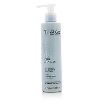 Thalgo Eveil A La Mer Gentle Cleansing Milk (face & Eyes) - For All Skin Types Even Sensitive Skin - 200ml/6.76oz