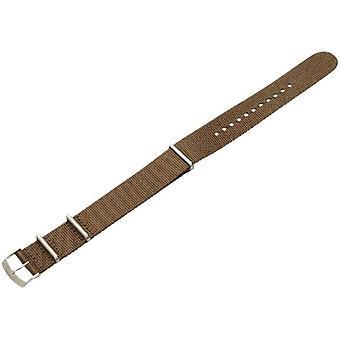 """Morellato جلدية سوداء حزام 20 مم """"الفرقة الخضراء"""" رجل A01U3972A74073CR20"""