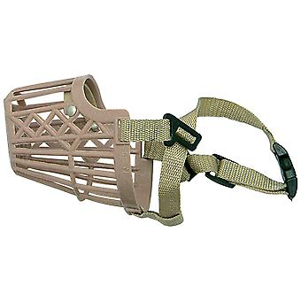 Ica N-4 Plantic Muzzle with Nylon (Dogs , Collars, Leads and Harnesses , Muzzles)