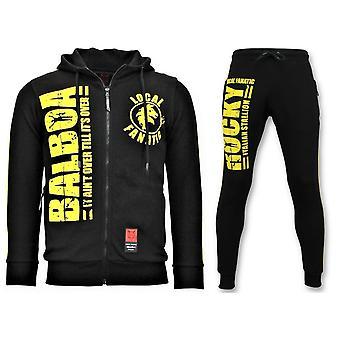 Tracksuit - Rocky Balboa Sports Suit - Black
