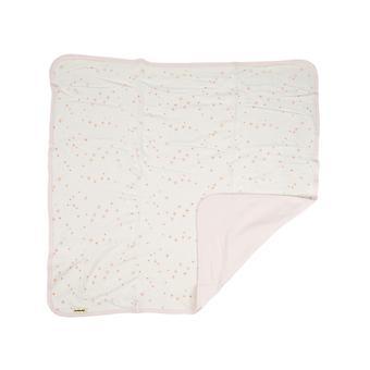 Organic Cuddly Blanket Set Juna, Pink