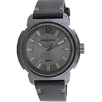 Police Herren Uhr Armbanduhr Leder Analog Tramp PL14797JSQ.61