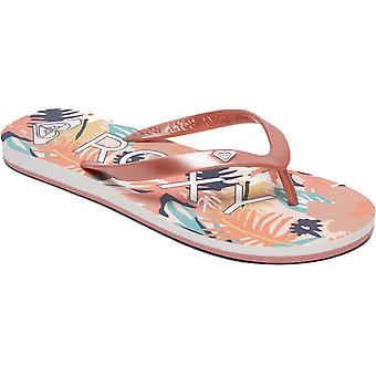 Roxy Tahiti VII Flip Flops in Rose Gold