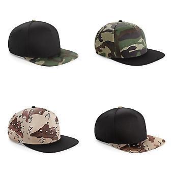 Beechfield Camouflage Retro Snapback Cap