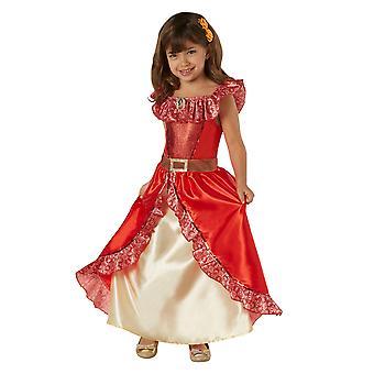 Elena of Avalor Girls Princess Elena Deluxe Costume