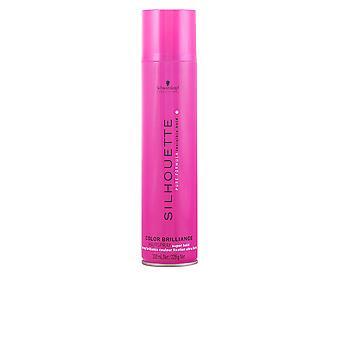 Schwarzkopf-siluett färg Brillance Hairspray Super Hold 300 Ml Unisex
