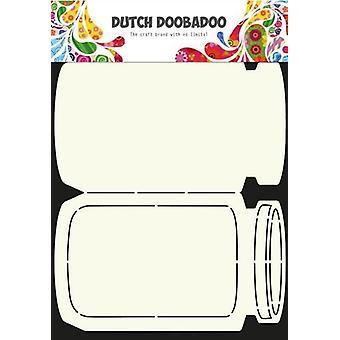 الهولندية Doobadoo الهولندية بطاقة الفن ستينسيل كوكي جرة A4 470.713.609