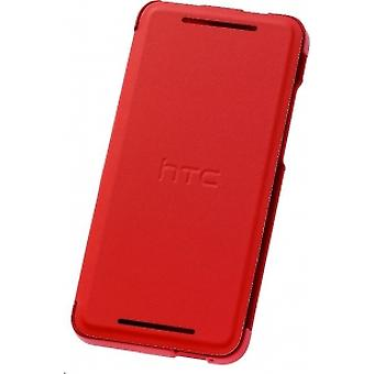 Htc Hc v851 Red Flip Case with Stand for Htc One Mini