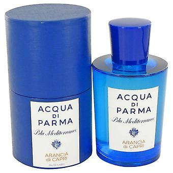 Blu Mediterraneo Arancia Di Capri Eau De Toilette Spray By Acqua Di Parma 5 oz Eau De Toilette Spray