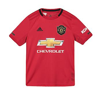 Manchester United FC Officiel Football Gift Boys Home Kit Shirt 2019 2020