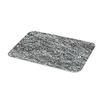 Stow grün Granit Stil Medium Glas Worktop Saver