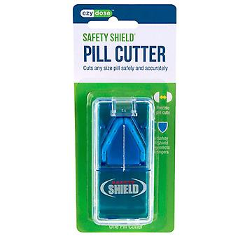 Ezy dose safety shield pill cutter, 1 ea (colours vary)